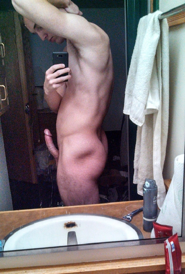 Cock Standing Tall