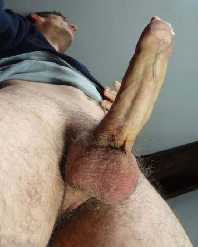 Man With Erection
